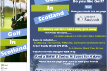 Facebook page launched for Scottish golf clubs