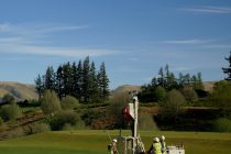 The drainage solutions being used at Gleneagles