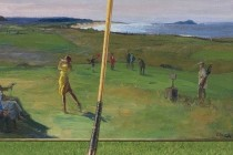 'History of golf' art to be auctioned