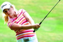 Curtis Cup star competes in English girls' championship