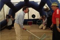 CGPs used Olympics to showcase golf