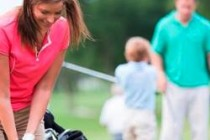 Only 25% of men want to play golf with women