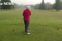 ITV profiles nonagenarian golfer