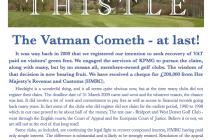 Marlborough Golf Club receives £200,000 VAT windfall