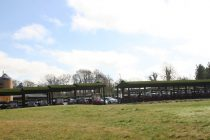 Ramside GC installs grass covered buggy shelter