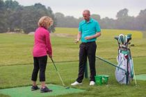 Golf coaching is now allowed again in England