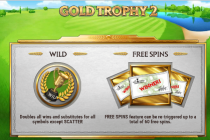 The top golf themed slot games