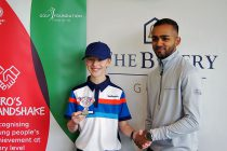 First two 'Hero's Handshakes' awarded to incredible golf juniors