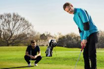 The mental health benefits from playing golf