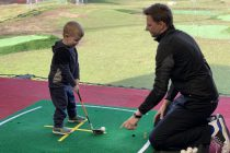 How adventure golf turned this three-year-old into a golf fanatic