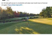 Two golf venues set to close