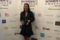 Fame Tate wins women's 'Oustanding Achievement' for golf club turnaround