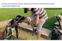 Documentary to be made about golf club sock story