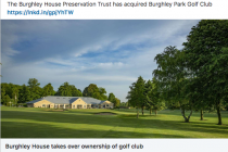 'Financially unsustainable' golf club sold to a charitable trust