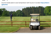'One of Scotland's best public golf courses' to close next year