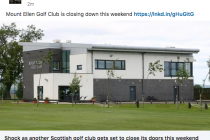Another historic Scottish golf course closes down