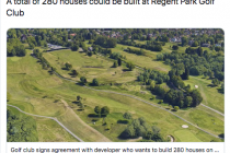 Two more golf courses could have housing complexes built on them