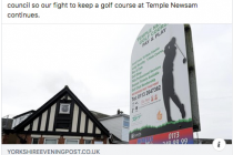 Yorkshire golf club apparently saved from closure although confusion remains