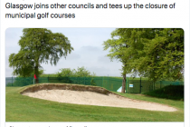 Five golf courses in Scotland are earmarked for closure