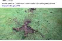 Watford golf course hit by vandals in 'disgusting' attack