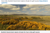 Planning permission denied for major new Scottish golf course