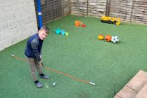 National charity provides six golfing ideas for families to survive the lockdown