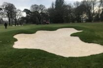 Golf club finds two people having sex in a bunker
