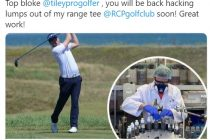 European Tour golfer makes sanitiser for the NHS as club launches shopping service for its community