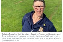 Six Scottish golf clubs could close 'in the next two weeks'