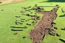 Vandals tear up greens at Scottish golf club just before it reopened