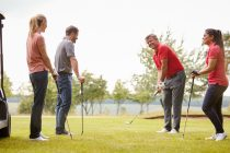 PGA professionals in England can now coach in groups of six people