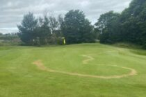 This is what vandals have done to a Scottish golf course