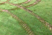 Quad bikers 'tear up' Lancashire golf course