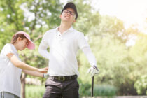 Two-thirds of golfers have sustained an injury playing golf