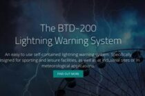 Lightning warning system website launched