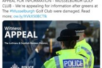 Vandals use 'substance' to attack Musselburgh's greens
