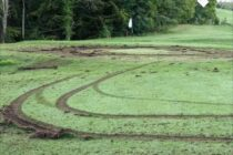 Another golf course devastated by vandals
