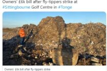 Golf club finds 35 tonnes of waste dumped on its venue