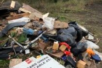 Another club is hit by fly-tipping