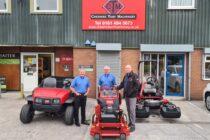 Cheshire Turf Machinery celebrates 25 year anniversary