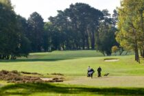 Golf course asks golfers to stop littering
