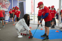 New project to introduce children to golf launched at the Open