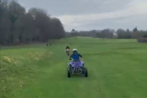 Golf course staff are wearing body cameras due to rise in vandalism