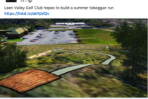 UK golf club to build a toboggan run on its grounds