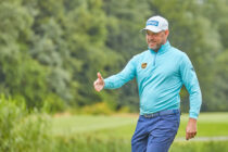 English golfers and their sponsors