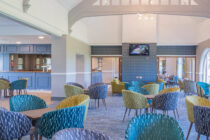 Bespoke solutions; carpet designed for your clubhouse